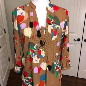 Fossil Riley Floral Tunic
